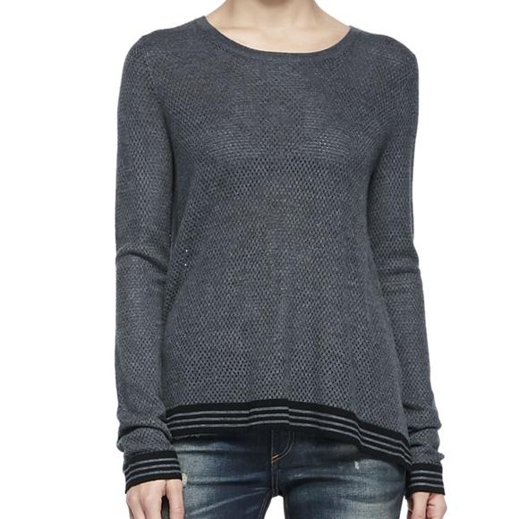 d5c495f2d53 Rag   Bone Nikki Split Back Sweater. M 5a3b438e1dffda3a60017713